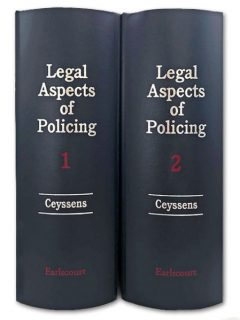 Legal Aspects of Policing