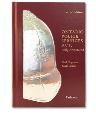 Book cover for Ontario Police Services Act